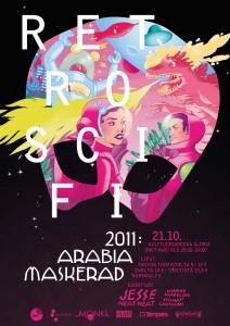 Arabia Maskerad 2011  RETRO SCI-FI – TOKYO ry cefc8c9bb1c5c