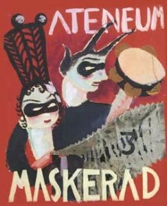 Maskerad-poster from the beginning of 1900's